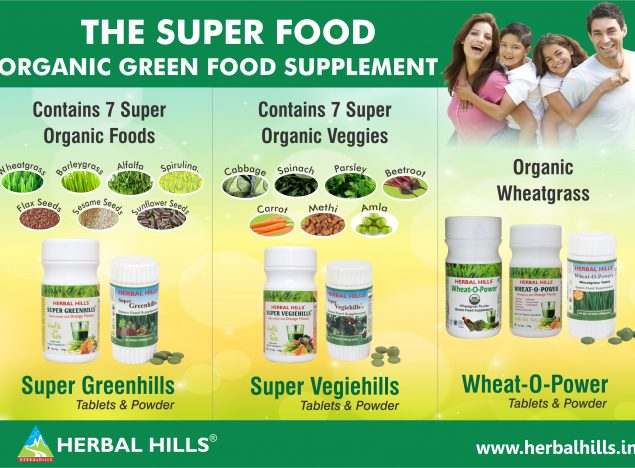 green food poster